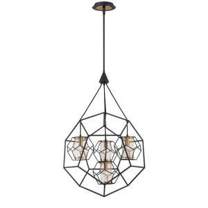 Bettino Chandelier 4 Light - 24.5 Inches Wide by 40.25 Inches High