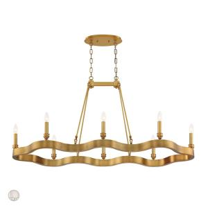 Leyton - Eight Light Oval Chandelier