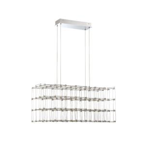 Linwood - 30.75 Inch 3276.8W 128 LED Rectangular Chandelier