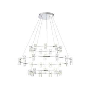 Netto - 40.5 Inch 4356W 33 LED Large Round Chandelier