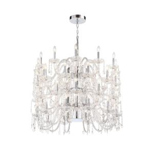 Ferrero 4 Tier Chandelier 12 Light - 42 Inches Wide by 34 Inches High
