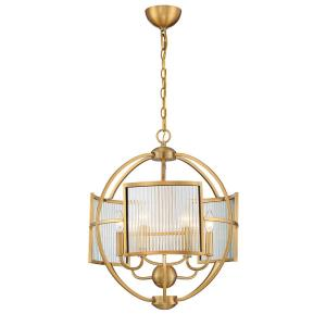 Manilow Chandelier 6 Light - 19 Inches Wide by 23 Inches High