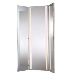 "60"" 60W 1 LED Large Tri-Fold Mirror"