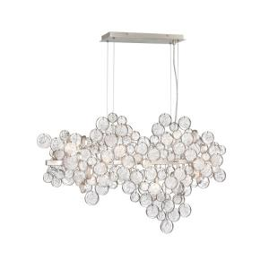 Trento Oval Chandelier 12 Light - 10.5 Inches Wide by 24 Inches High