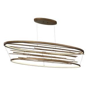 Bobina - 60.75 Inch 182W 2 LED Large Oval Chandelier