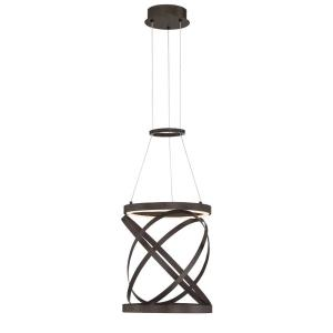 Avita - 18W 1 LED Small Round Pendant - 12.25 Inches Wide by 14.25 Inches High