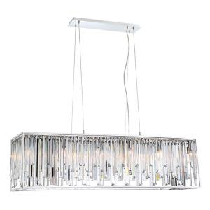 Genova - Twelve Light Rectangular Chandelier