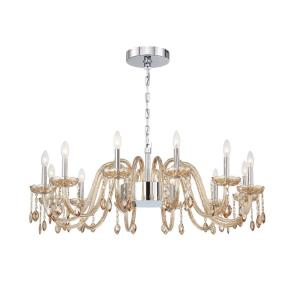 Ferrero Chandelier 2 Light - 42 Inches Wide by 15 Inches High
