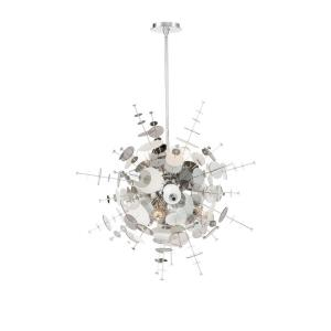 Bonazzi Chandelier 9 Light - 29 Inches Wide by 28 Inches High
