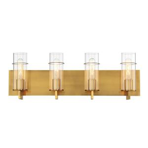 Pista - 240W 4 LED Bath Bar - 26 Inches Wide by 8.75 Inches High