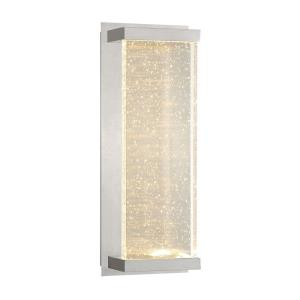 Paradiso - 14.5 Inch 20W 2 LED Outdoor Large Rectangular Wall Mount
