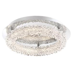 "Sassi - 15"" 30W 1 LED Flush Mount"