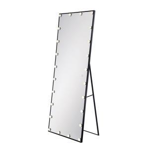 "65"" 336W 24 LED Rectangular Freestanding Mirror"