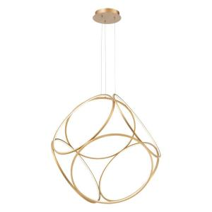 Glenview - 420W 6 LED Large Pendant - 34 Inches Wide by 33.5 Inches High