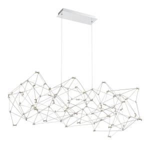 Leonardelli - 59W 118 LED Medium Chandelier in Contemporary Style - 21.75 Inches Wide by 15.75 Inches High