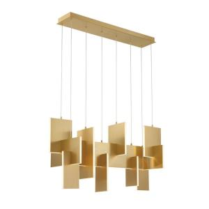 Coburg - 42 Inch 129W 1 LED Extra Large Linear Chandelier