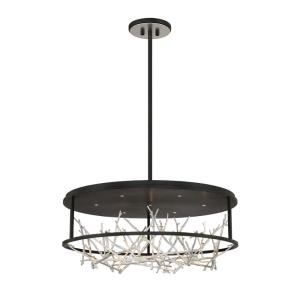 Aerie - 42W 7 LED Round Chandelier in Transitional Style - 30.5 Inches Wide by 13 Inches High