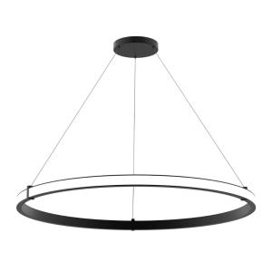 Mucci - 70W 1 LED Medium Outward Pendant in Transitional Style - 48 Inches Wide by 2 Inches High