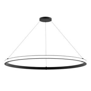 Mucci - 88W 1 LED Large Outward Pendant in Transitional Style - 60 Inches Wide by 2 Inches High