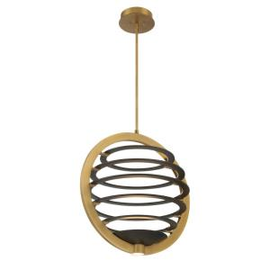 Ombra - 66W 2 LED Medium Chandelier in Transitional Style - 18.5 Inches Wide by 23 Inches High