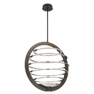 Ombra - 66W 2 LED Large Chandelier in Transitional Style - 25.25 Inches Wide by 30.75 Inches High