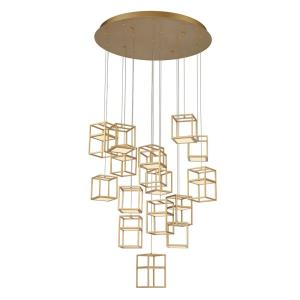 Ferro - 88W 1 LED Chandelier in Transitional Style - 32 Inches Wide by 8.25 Inches High