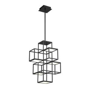 Ferro - 26W 1 LED Pendant in Transitional Style - 15.5 Inches Wide by 21 Inches High