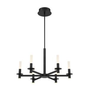 Torna - 228W 6 LED Chandelier in Transitional Style - 27.5 Inches Wide by 17.25 Inches High