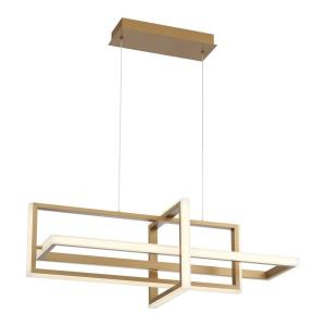 Bordo - 114W LED Chandelier in Contemporary Modern Style - 12.5 Inches Wide by 12.5 Inches High