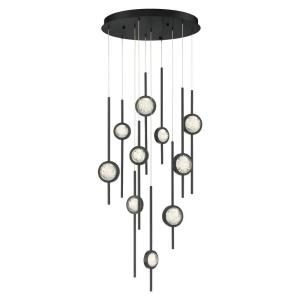 Barletta - 57W 10 LED Chandelier in Posh & Luxe Modern Style - 24 Inches Wide by 23.5 Inches High