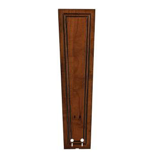 Accessory - 5 - 22 Inch Carved Rectangle Frame Wood Blades