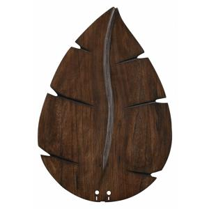 Accessory - 26 Inch Wide Oval Leaf Carved Wood Blades