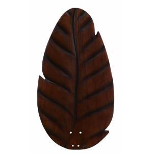 Distinction - 54 Inch Oval Leaf Carved Wood Blade