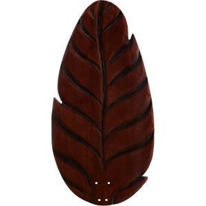 Distinction - 60 Inch Oval Leaf Carved Wood Blade