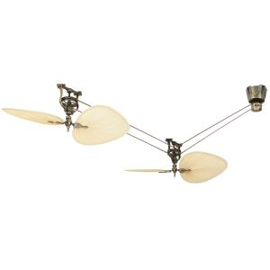 Brewmaster - 22 Inch Short Neck Ceiling Fan Assembly
