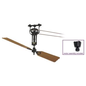 Brewmaster - 56 Inch Long Nech Ceiling Fan Assembly