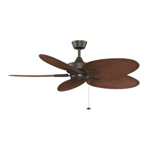 Windpointe 5 Blade Ceiling Fan with Pull Chain Control - 44 Inches Wide by 14.82 Inches High