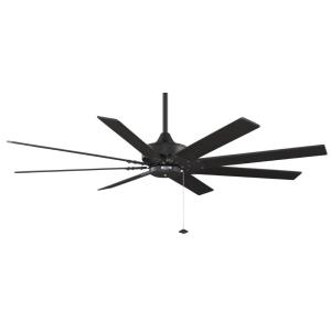 Levon 8 Blade Ceiling Fan with Pull Chain Control - 63 Inches Wide by 14.5 Inches High