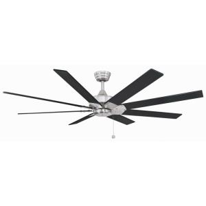 Levon 8 Blade 63 Inch Ceiling Fan with Pull Chain Control