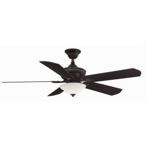 Camhaven V2 5 Blade 52 Inch Ceiling Fan with Handheld Control and Includes Light Kit