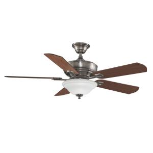 Camhaven 5 Blade 52 Inch Ceiling Fan with Handheld Control and Includes Light Kit
