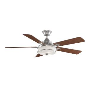 Stafford 5 Blade 52 Inch Ceiling Fan with Handheld Control and Includes Light Kit