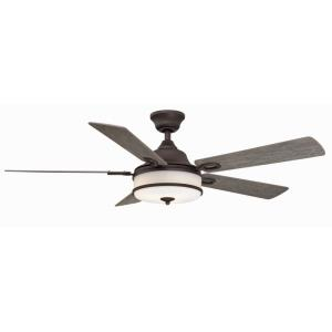 "Stafford - 52"" Ceiling Fan with Light Kit"