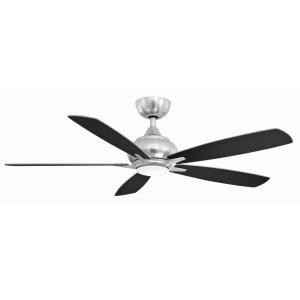 Doren 5 Blade Ceiling Fan with Handheld Control and Includes Light Kit - 52 Inches Wide by 13.65 Inches High