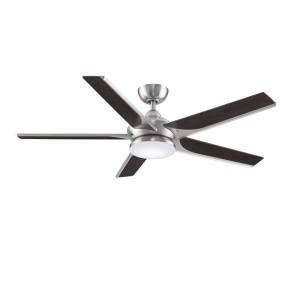 Subtle 5 Blade 56 Inch Ceiling Fan with Handheld Control and Includes Light Kit