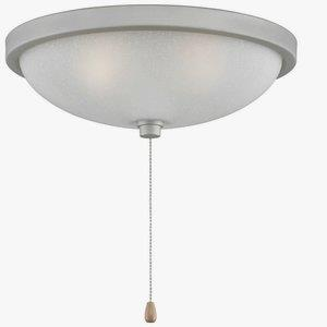 Low- Three Light Bowl Kit - 14 Inches Wide by 4.8 Inches High