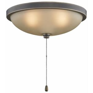 Low-Profile - Three Light Bowl Kit - 11.65 Inches Wide by 6 Inches High