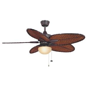 Accessory - Low Profile Fan Light Kit Rounded Linen Glass