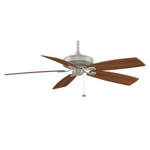 Edgewood Deluxe 5 Blade 60 Inch Ceiling Fan  and Optional Light Kit
