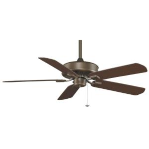 Edgewood 5 Blade Ceiling Fan and Optional Light Kit - 50 Inches Wide by 14.02 Inches High